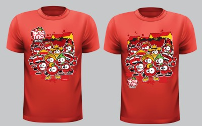 Camiseta La Tomatina Buñol