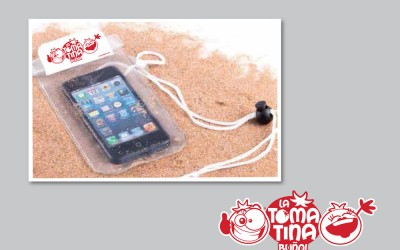 Protector móvil La Tomatina Buñol
