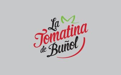 Pegatina La Tomatina Buñol
