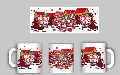 Tazas La Tomatina Buñol