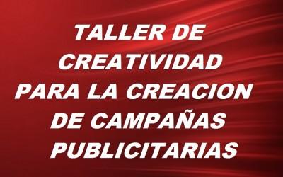 Taller de creatividad para la creación de campañas publicitarias