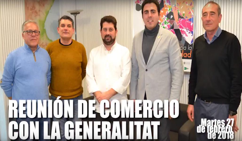 Reunión con el director general de comercio de la Generalitat Valenciana