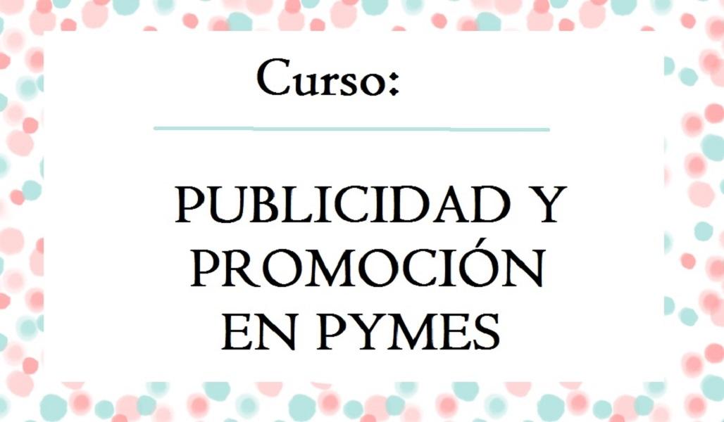 Curso: Publicidad y Promoción en PYMES.