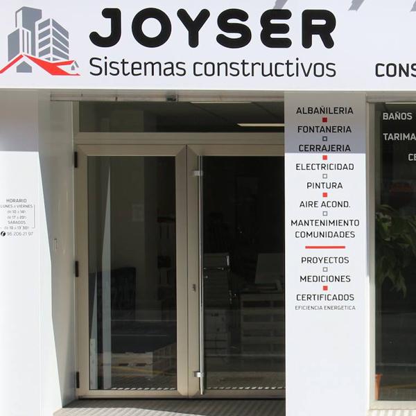 JOYSER - Sistemas Constructivos